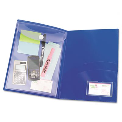 Avery Two-Pocket Folder, Sealed Envelope with Clasp, 3/Pack