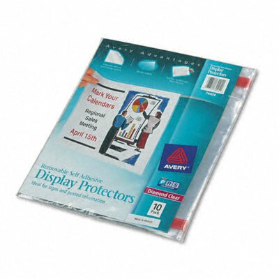 Avery Top-Load Display Sheet Protectors, 10/Pack