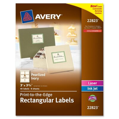 Avery Rectangle Label