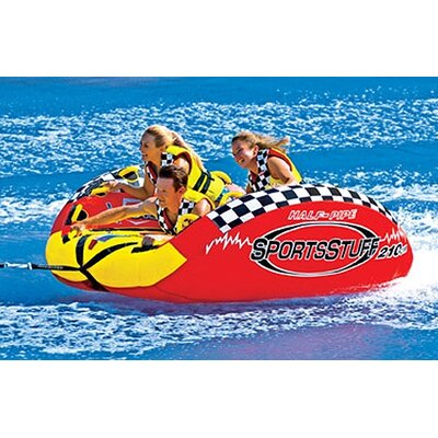 Half Pipe Frantic Towable Tube with Optional 4K Tow Rope