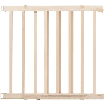 evenflo safety 42 quot wood swing gate reviews wayfair