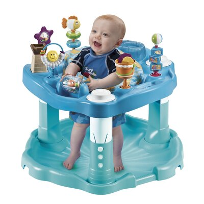 Evenflo ExerSaucer Bounce and Learn Beach Baby Bouncer