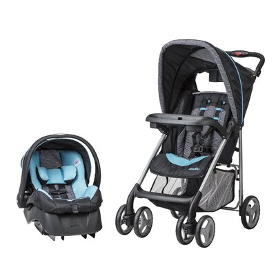 JourneyLite Koi Travel System with Embrace Infant Car Seat