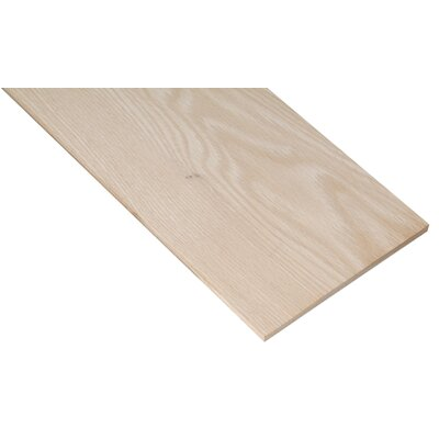 "Waddell 1/4"" X 5-1/2"" X 24"" Oak Project Board PB19509"