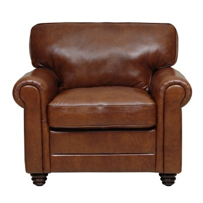 Luke Leather Andrew Italian Leather Chair