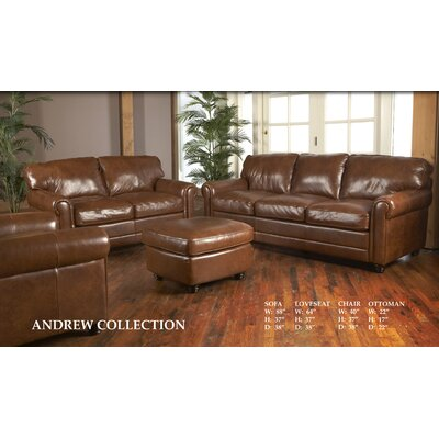 Luke Leather Andrew Living Room Collection