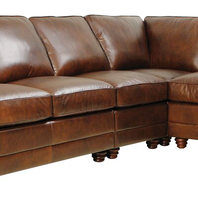 Andrew Leather Sectional