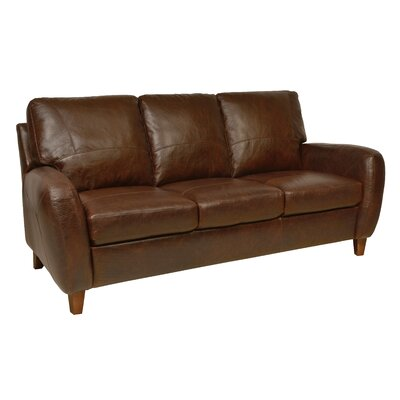 Luke Leather Jennifer Leather Sofa & Reviews