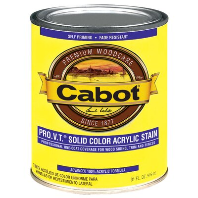 CabotStain 1 Quart Medium Base PRO V.T. Stain Acrylic