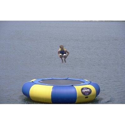 Rave Sports Aqua Jump 150-Eclipse Trampoline