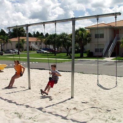 Heavy Duty T Swing Set