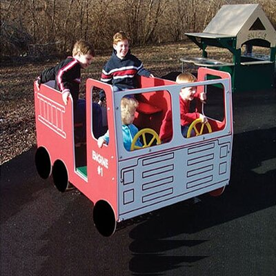 SportsPlay Fire Truck Multi-Spring Rider
