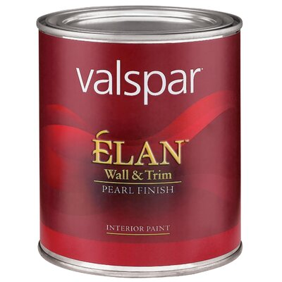 Valspar 1 Quart Tint Base Élan™ Wall & Trim Pearl Finish Interior Acrylic Paint