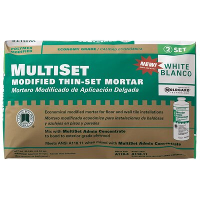 Custom Building Products MultiSet Modified Thin-Set Mortar