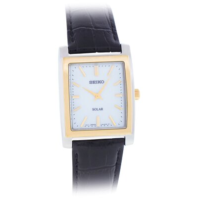 Men's Classic Watch with Leather Strap