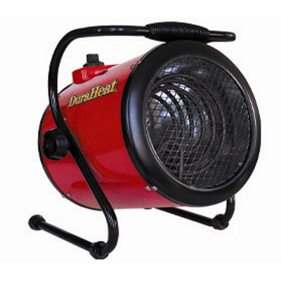 DuraHeat 4,000 Watt Fan Forced Compact Electric Space Heater with Thermostat