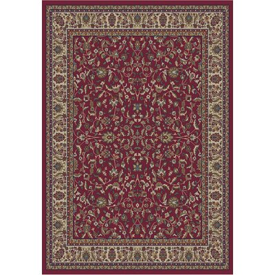 Concord Global Imports Gem Kashan Red Rug