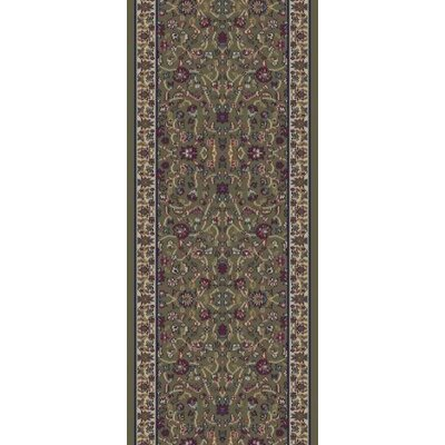 Concord Global Imports Gem Kashan Green Rug