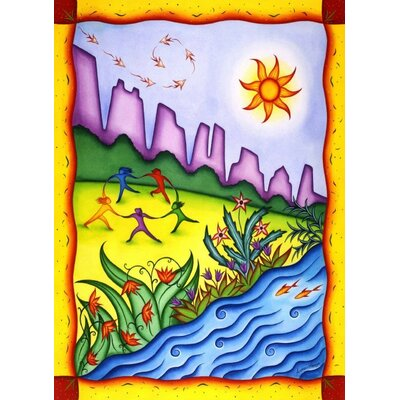 Concord Global Imports New York City Riverside Park Neighborhood Novelty Rug