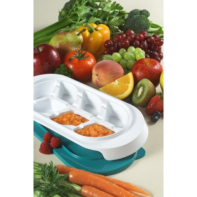 KidCo Baby Steps Freezer Trays With Lids - 2 pk