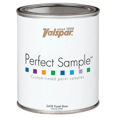 Valspar 1 Pint Blue Base Perfect Sample™ Custom-Tinted Paint Samples