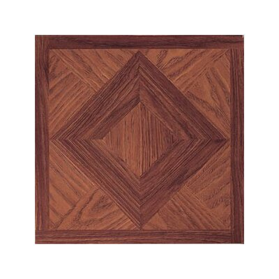 "Home Dynamix 12"" x 12"" Vinyl Tiles in Madison Woodtone"