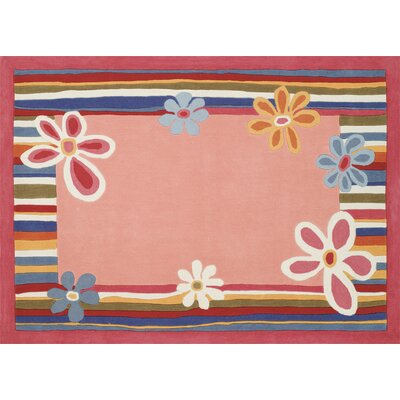 Home Dynamix Kidz Image Flower Strawberry Kids Rug