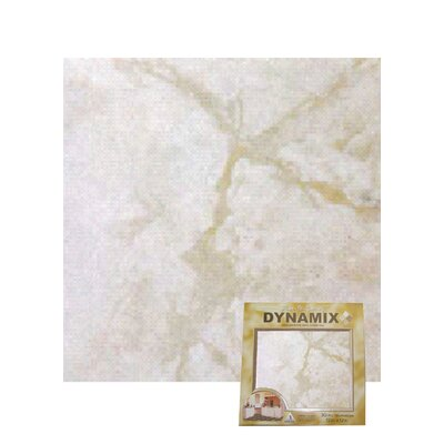"Home Dynamix 12"" x 12"" Vinyl Tile in White Marble"