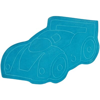 Home Dynamix Carnaval Blue Car Kids Rug