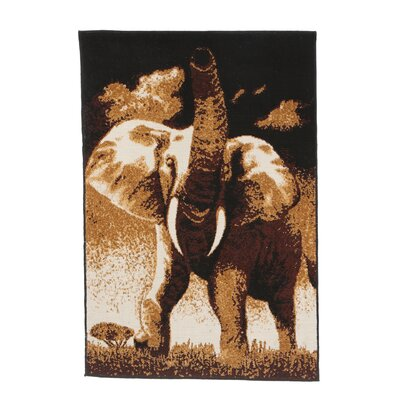 Home Dynamix Zone Elephant Novelty Rug