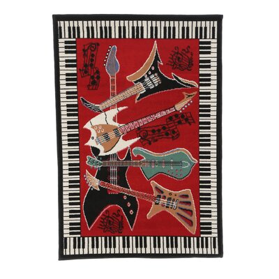 Zone Music Novelty Rug