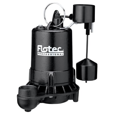 3/4 HP Cast Iron Professional Series Submersible Sump Pump