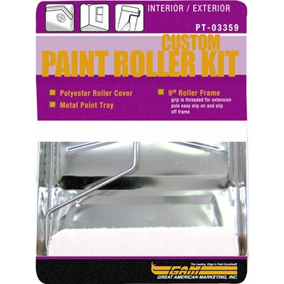Gam 3 Piece Paint Roller Kit PT03359