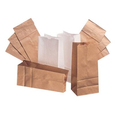 General 5 Kraft Paper Bag in Brown with 500 Per Bundle