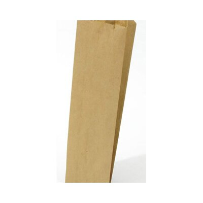 "General 4.5"" Kraft Paper Bag in Brown"