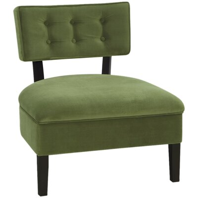 Ave Six Curves Button Chair