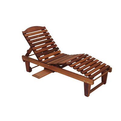 Great American Woodies Cypress Chaise