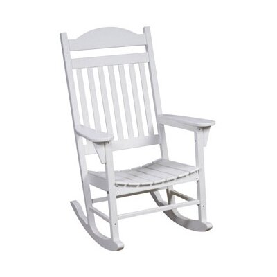 Great American Woodies Lifestyle Poly Resin Rocking Chair