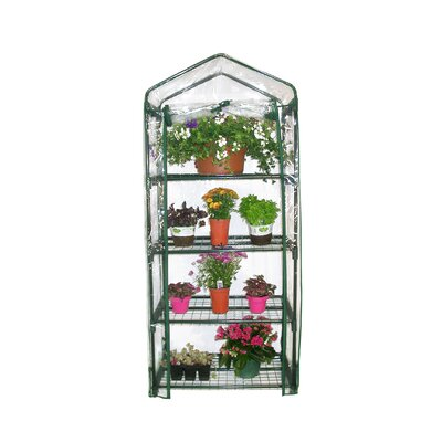Alpine 4 Tier Growing Rack Greenhouse