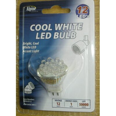 Alpine Led Bulb Display Case Warm in White - 12 pieces
