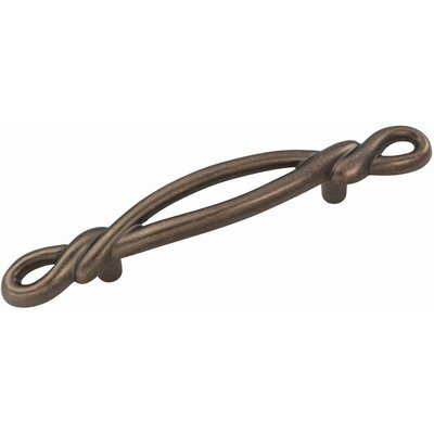 "HickoryHardware French Twist 5.66"" Cabinet Bar Pull"
