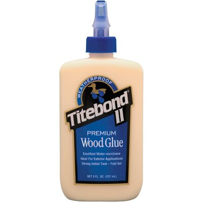 Titebond 8 Oz Titebond® II Wood Glue 5003