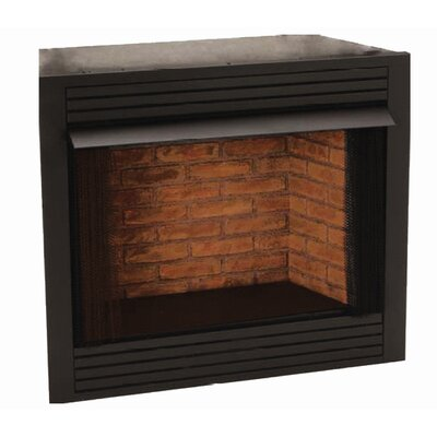 KozyWorld Universal Firebox Vent Free Gas Fireplace