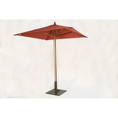 Green Corner 6.5' Square Market Umbrella