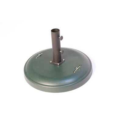 Greencorner Free Standing Round Concrete Umbrella Base