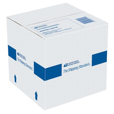 """Lepages 6"""" x 6"""" x 6"""" USPS Shipping Carton"""