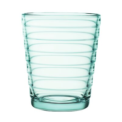iittala 8.55Aino Aalto 7.75 Oz. Tumblers Water Green (Set of 2)