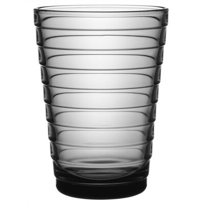 iittala Aino Aalto 11.75 Oz. Tumblers Grey (Set of 2)
