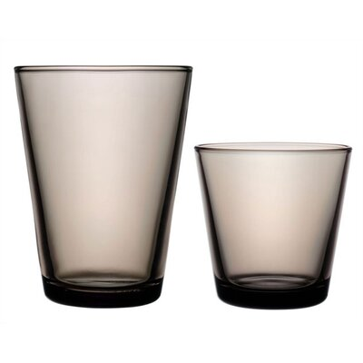 iittala Kartio Glassware Set Sand - Limited Production