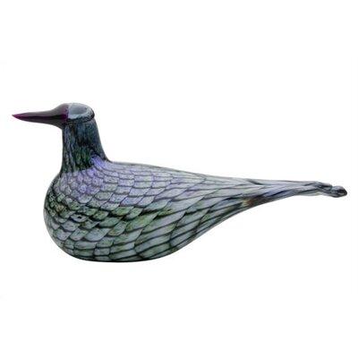 iittala Birds by Toikka Rusee Grebe Figurine